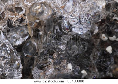 Hyalite Mineral Background