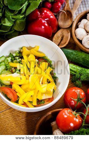 Homemade food preparation