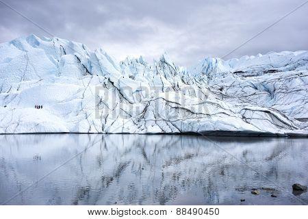 Alaska Glacier Lake - Close Up View