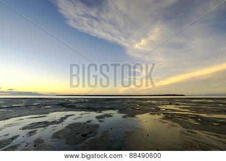 Alaska Seashore - Sunset