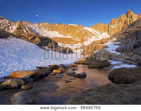 Mt. Whitney High Camp - Morning