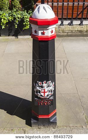 City Of London Bollard