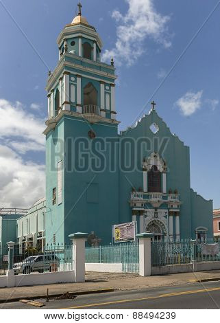 Church Of The Universidad Del Sagrado Corazon.