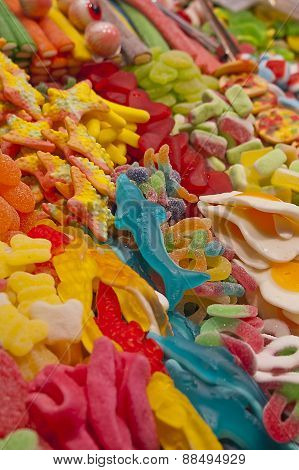 Bright And Colourful Candy