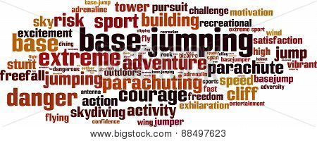 Base Jumping Word Cloud