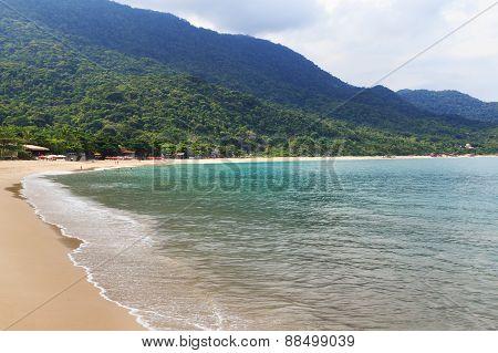 Beach Praia De Fora, Trindade, Paraty Bay, State Rio De Janeiro, Brazil
