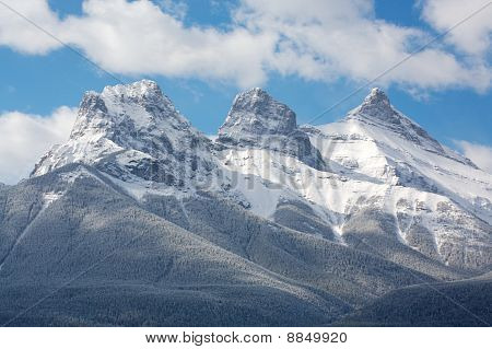 Three Sisters mountain group