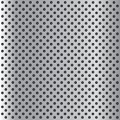 picture of metal grate  - High resolution concept conceptual gray metal stainless steel aluminum perforated pattern texture mesh background - JPG