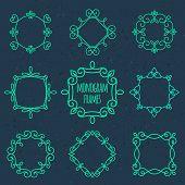 picture of monogram  - Monogram frames - JPG