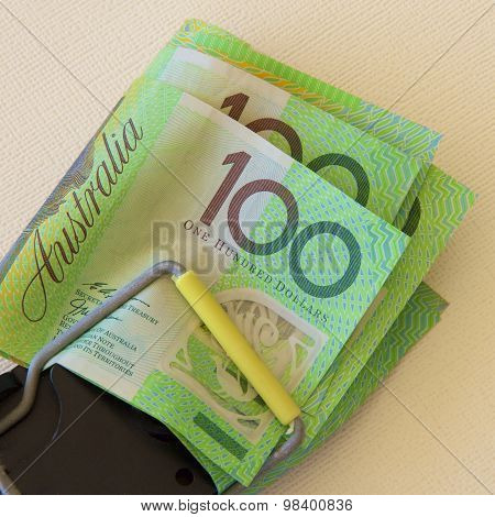 Australian Notes Trapped