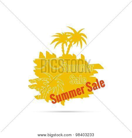 Summer sale design template