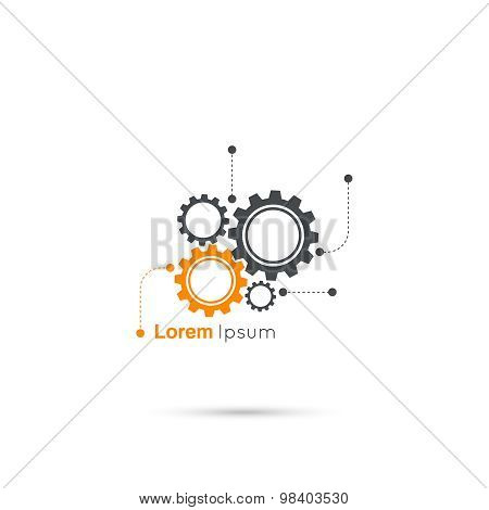 Gears symbol.
