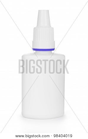 Medicine Spray Nasal Isolated On A White Background