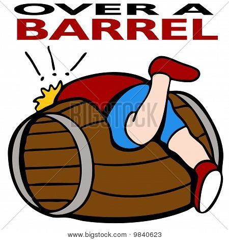 Over A Barrel
