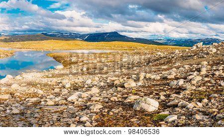Norway Nature Mountain Landscape.
