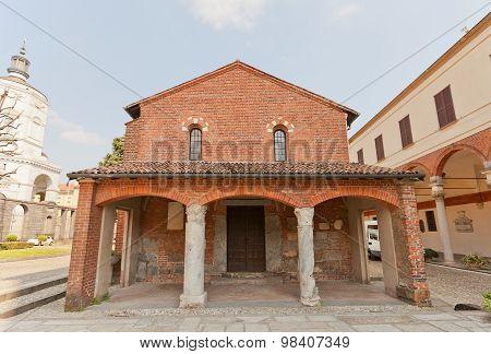 Oratory Of St Sigismondo (xi C.)  In Milan, Italy