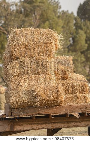 Farming Grass Bales