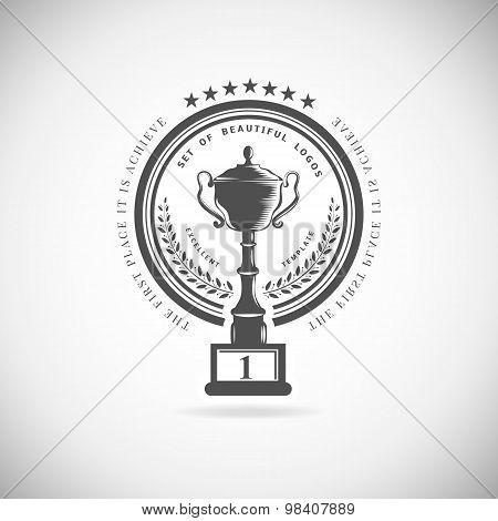 Vector winner logos