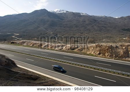 New highway in Croatia