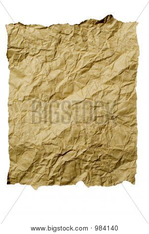 Parchment Paper Grunge Background