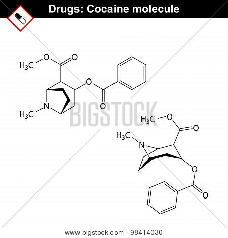 Cocaine Chemical Formula