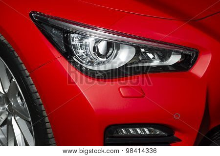 Predatory car headlight