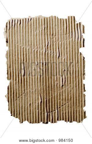 Very Distressed Cardboard Background