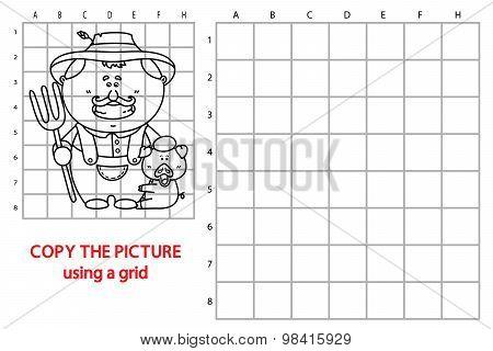 Grid copy farmer