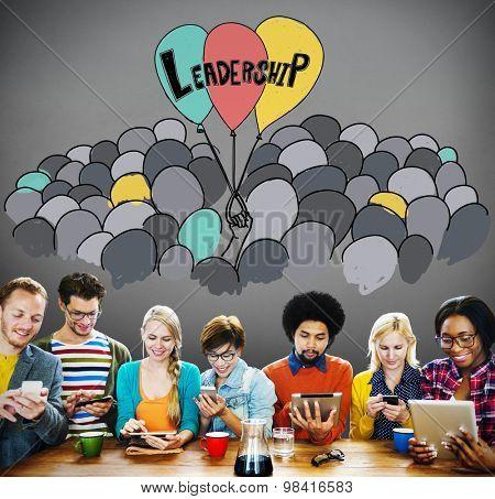 Leadership Lead Management Responsibility Vision Concept