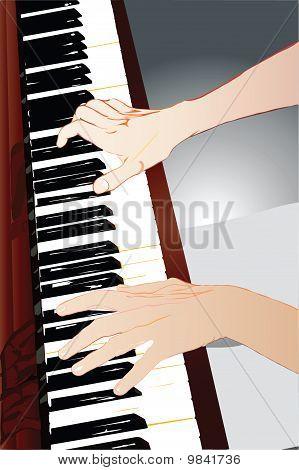 manos de un pianista