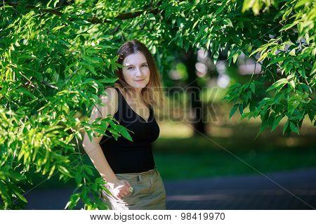 Girl In The Park