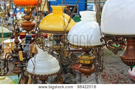 Antique Hanging Lamps