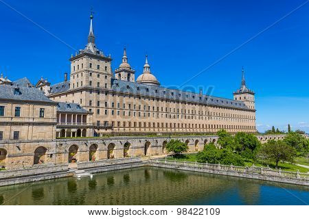 Royal Monastery Of San Lorenzo De El Escorial, El Escorial, Madrid Province, Spain
