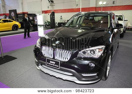 Bangkok - August 4: Bmw X1 Sdriver18I Xline Car On Display At Big Motor Sale On August 4, 2015 In Ba