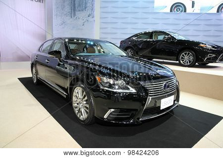 Bangkok - August 4: Lexus Ls600H Car On Display At Big Motor Sale On August 4, 2015 In Bangkok, Thai