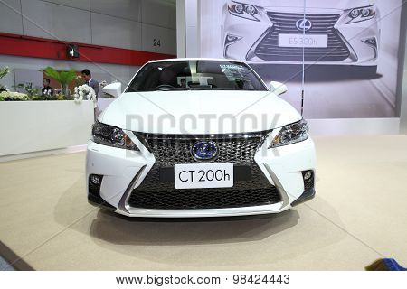 Bangkok - August 4: Lexus Ct200H Car On Display At Big Motor Sale On August 4, 2015 In Bangkok, Thai