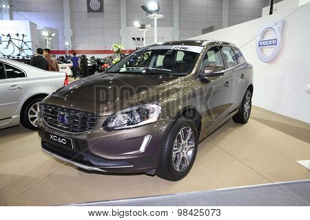Bangkok - August 4: Volve Xc60 Car On Display At Big Motor Sale On August 4, 2015 In Bangkok, Thaila