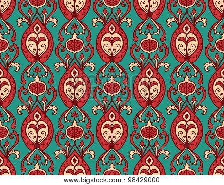 Stylized Vintage Wallpaper.