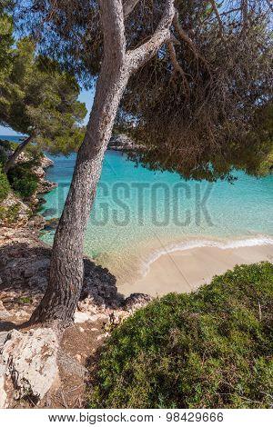 Cala Esmerelda Beach, Mallorca, Spain