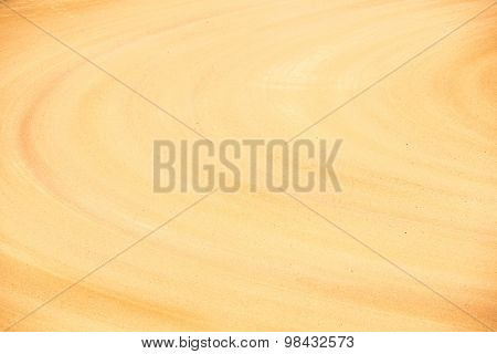 Sand background of bull fighting arena spain