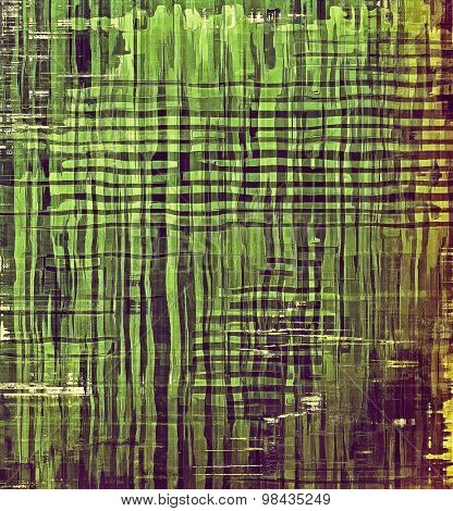 Old abstract grunge background for creative designed textures. With different color patterns: yellow (beige); brown; green; purple (violet)