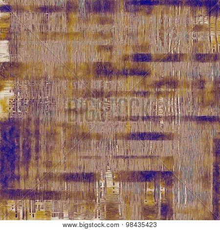 Vintage texture. With different color patterns: yellow (beige); brown; blue; purple (violet)