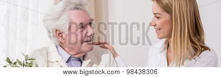 Taking Care Of Grandfather