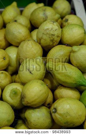 Lemon Group From Farmer Market