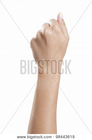 Fist Woman Hand