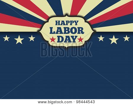 American labor day horizon background