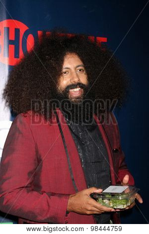 LOS ANGELES - AUG 10:  Reggie Watts at the CBS TCA Summer 2015 Party at the Pacific Design Center on August 10, 2015 in West Hollywood, CA