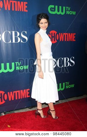 LOS ANGELES - AUG 10:  Julia Goldani Telles at the CBS TCA Summer 2015 Party at the Pacific Design Center on August 10, 2015 in West Hollywood, CA