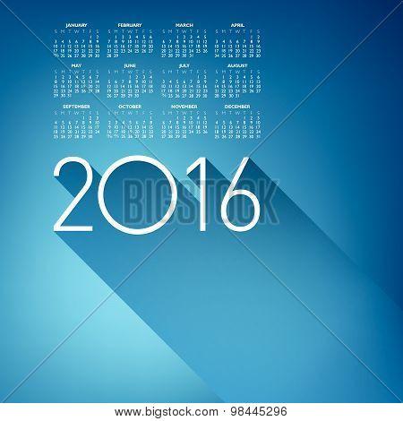 An Elegant 2016 Calendar