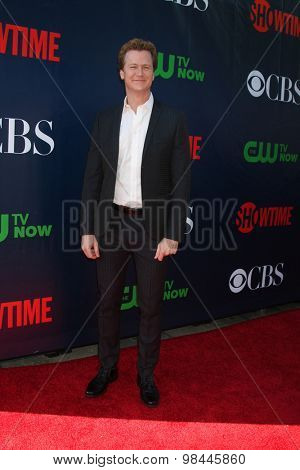 LOS ANGELES - AUG 10:  Jonathan Mangum at the CBS TCA Summer 2015 Party at the Pacific Design Center on August 10, 2015 in West Hollywood, CA